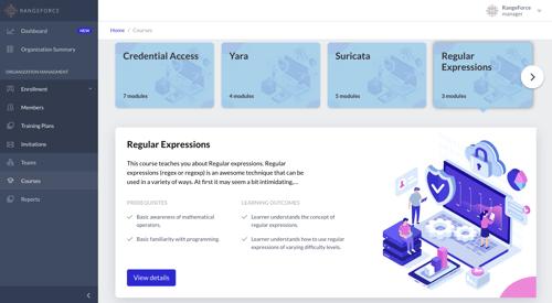 RangeForce CyberSkills Platform