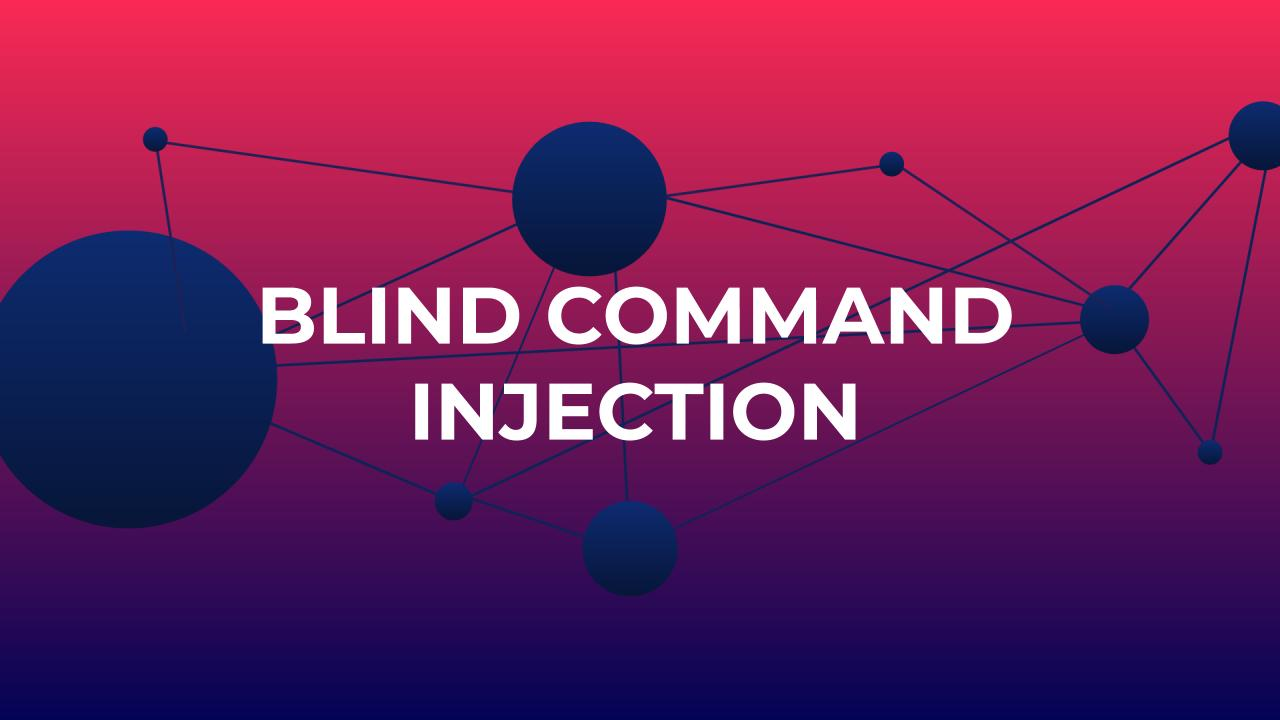 How to Prevent Blind Command Injection