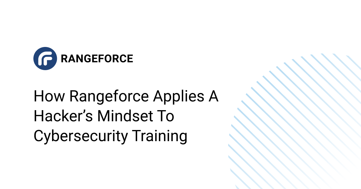 A Hacker's Mindset to Cybersecurity Training