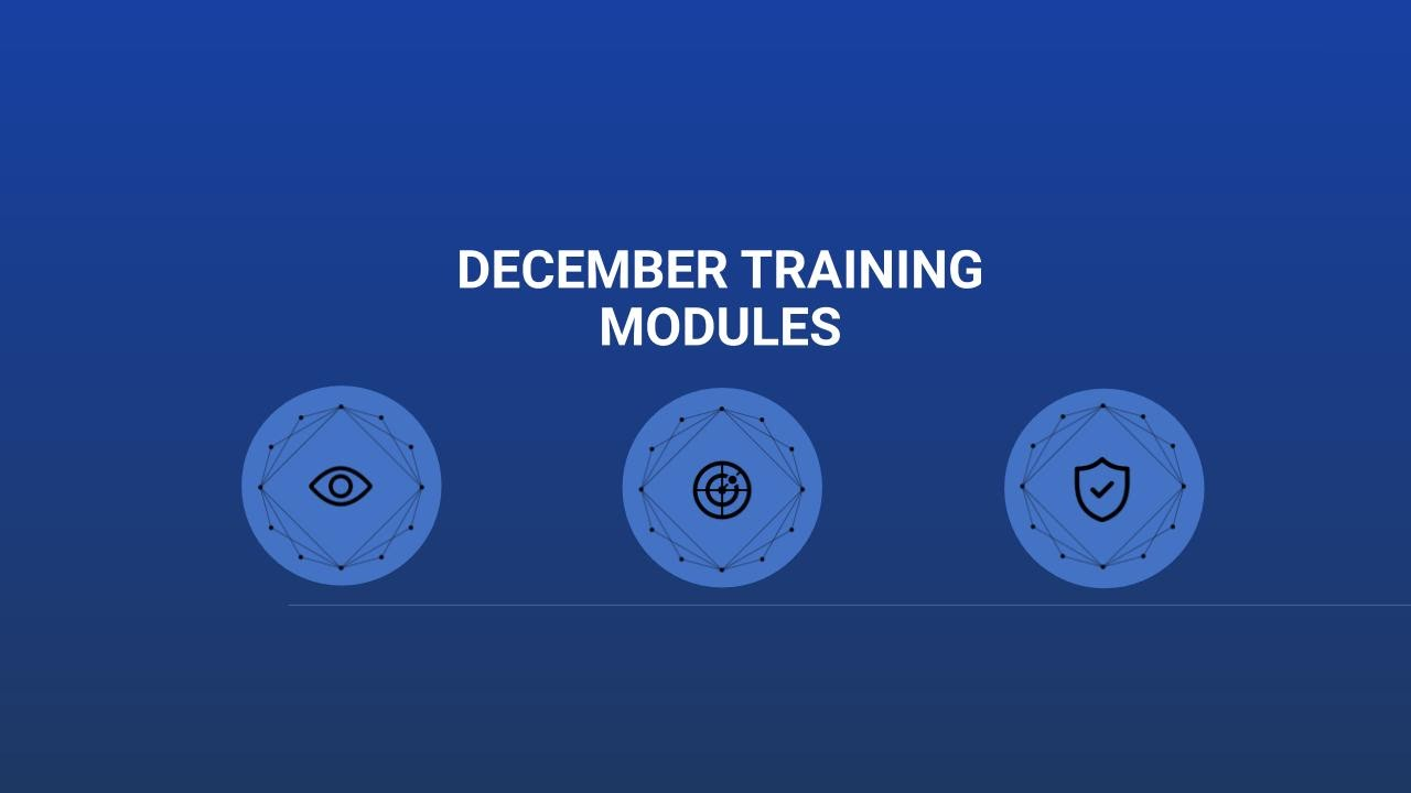 December Training Modules from RangeForce