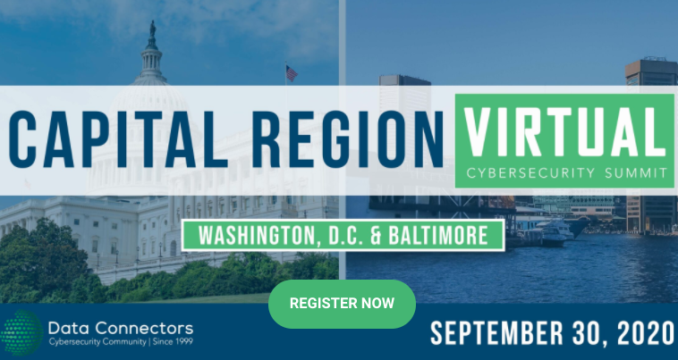 Data Connectors Virtual Cybersecurity Summit Washington DC and Baltimore