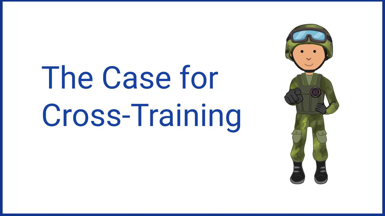 Cybersecurity cross-training