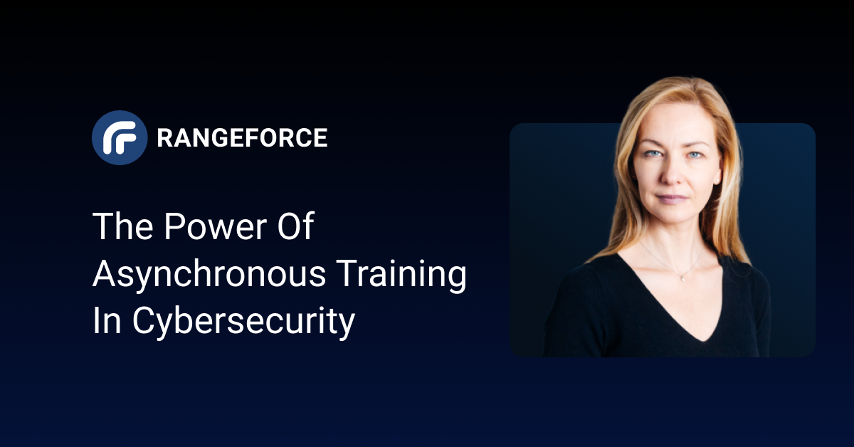 The Power of Asynchronous Training in Cybersecurity