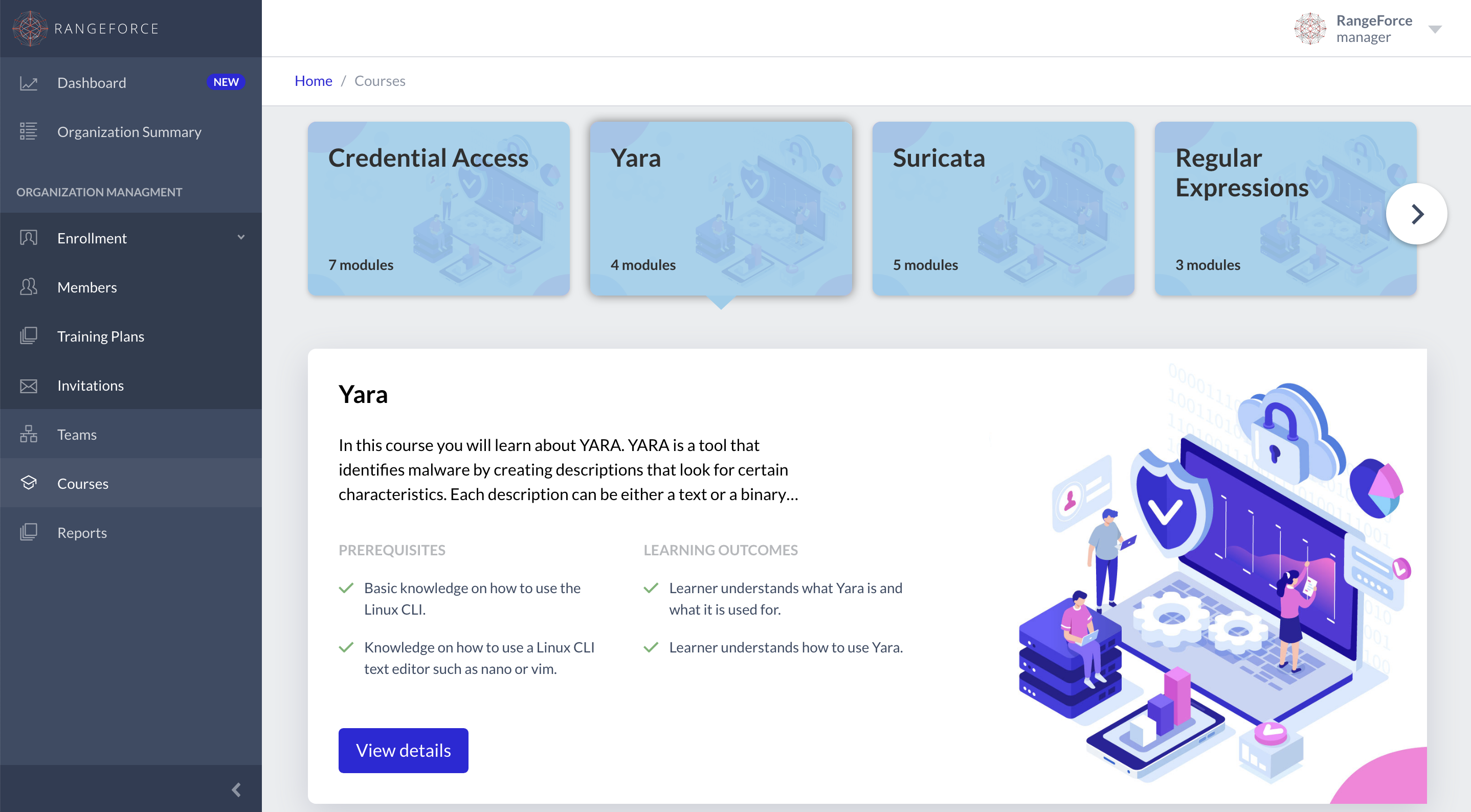 RangeForce Cybersecurity Training Modules: Yara Rules