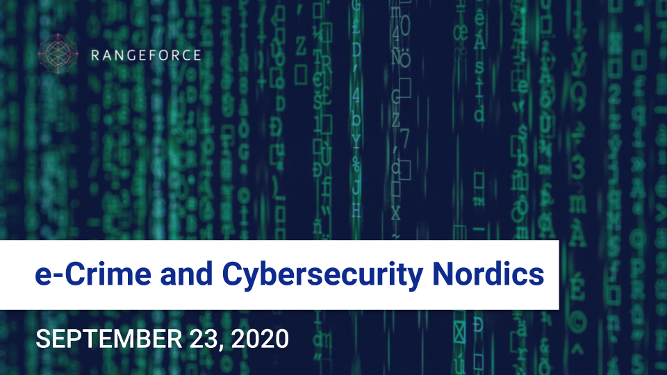 e-Crime and Cybersecurity Summit Nordics