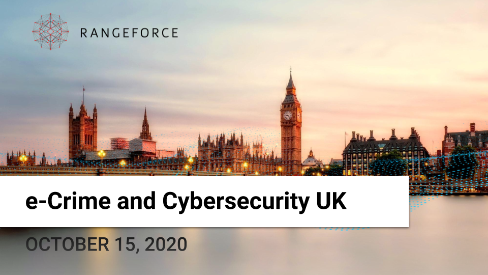 e-Crime & Cybersecurity Summit UK